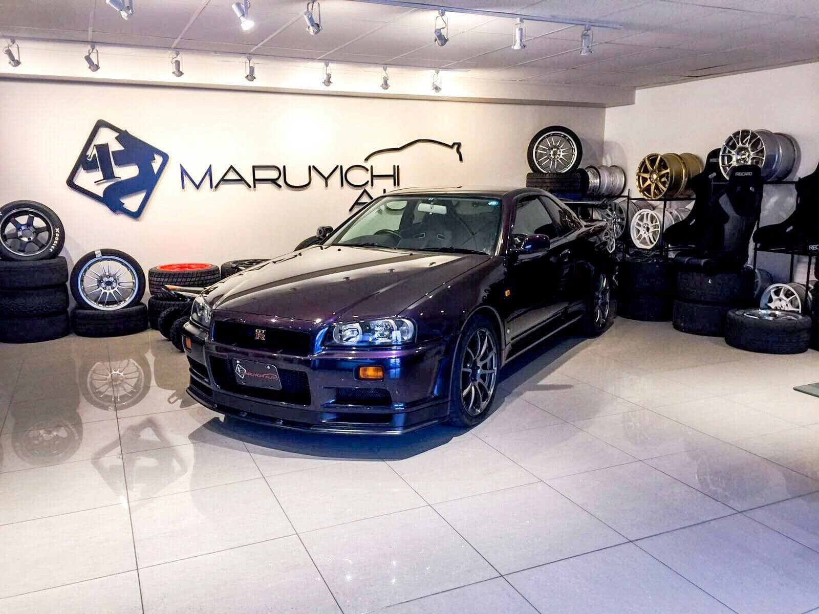 1999 Nissan Gt R 34 V Spec Limited Ed Midnight Purple Ii Concord