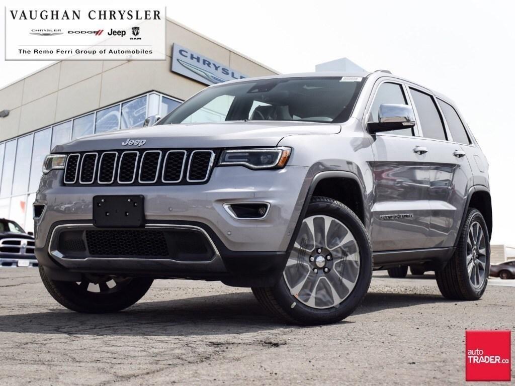 2018 Jeep Grand Cherokee Limited Power Sunroof Navigation Vaughan