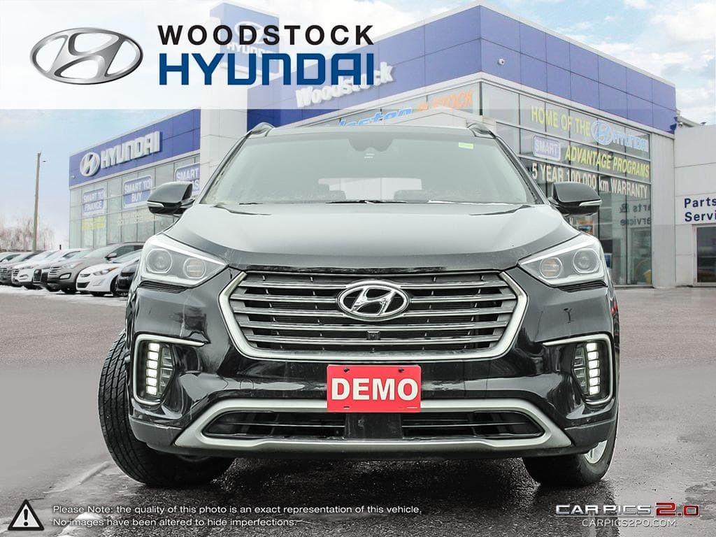2017 Hyundai Santa Fe Xl Awd Ultimate Exec Demo Fully Loaded