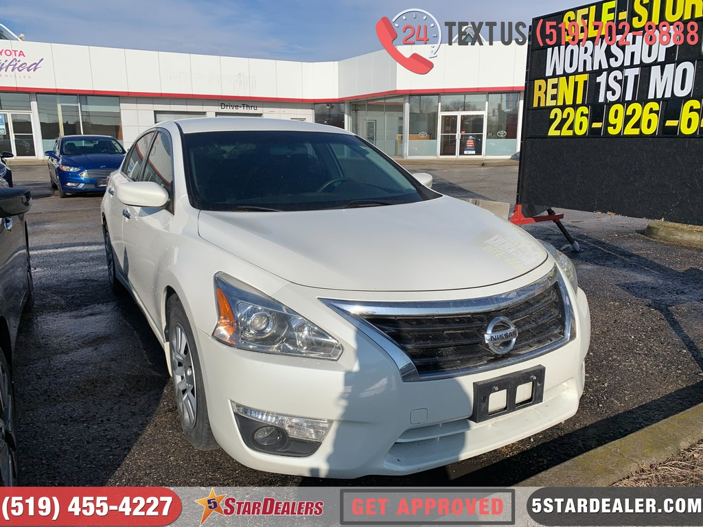 Aaa Car Loans >> 2013 Nissan Altima 2 5 Car Loans Approved On The Spot