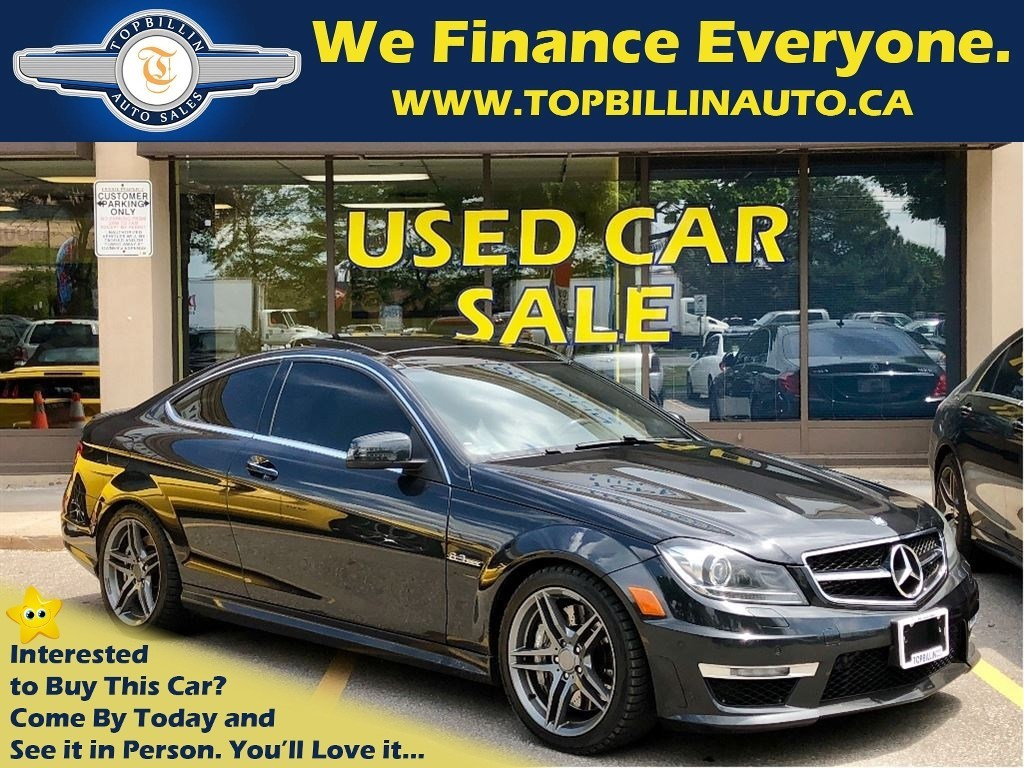 2013 Mercedes-Benz C-Class 63 AMG, ACCIDENT FREE - Vaughan