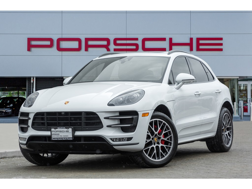 2018 Porsche Macan Turbo|Sport Chrono Package|Premium