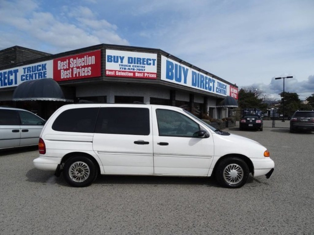 1998 Ford Windstar Gl Comes With An Extra Set Of Tires Kelowna