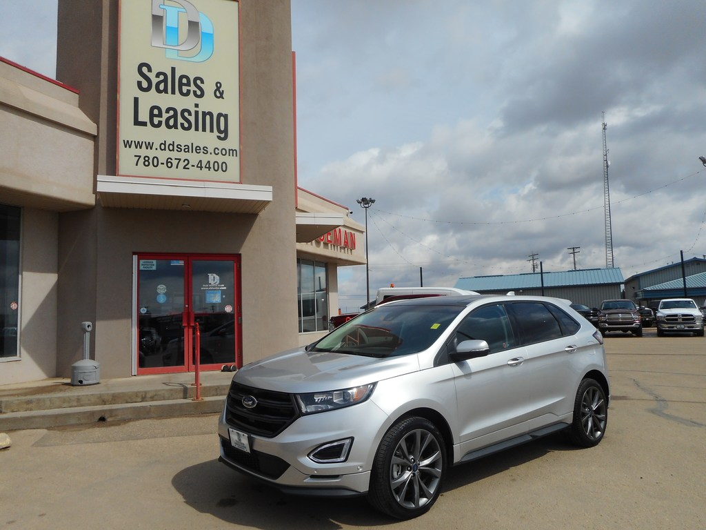 2018 Ford Edge Sport Nav Sunroof No Credit Check Financing