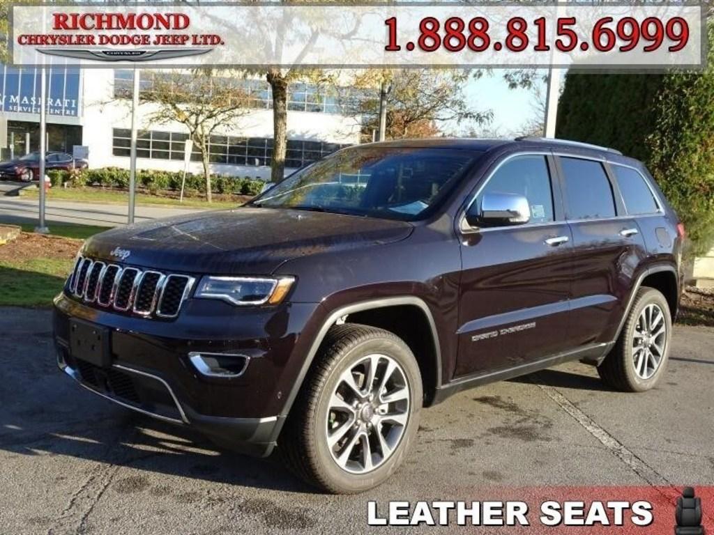 2018 Jeep Grand Cherokee Limited Leather Seats Richmond