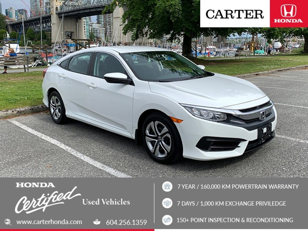 2017 Honda Civic Lx May Day Sale Certified Vancouver