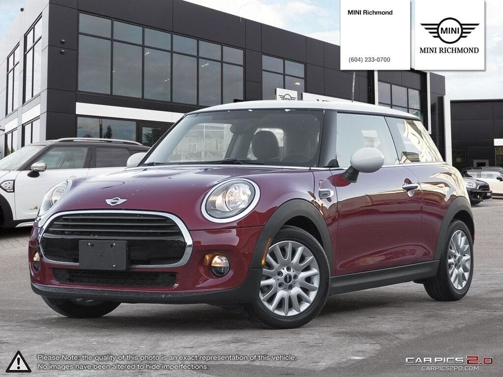 2016 Mini Cooper 3 Door Low Km No Accident Richmond
