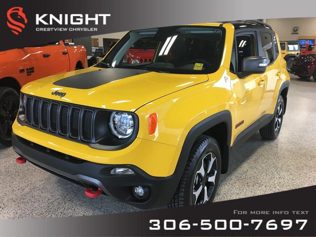 Prix Jeep Renegade >> 2019 Jeep Renegade Trailhawk 4x4 Heated Seats And