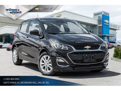 2019 Chevrolet Spark 2lt Sunroof Back Up Camera