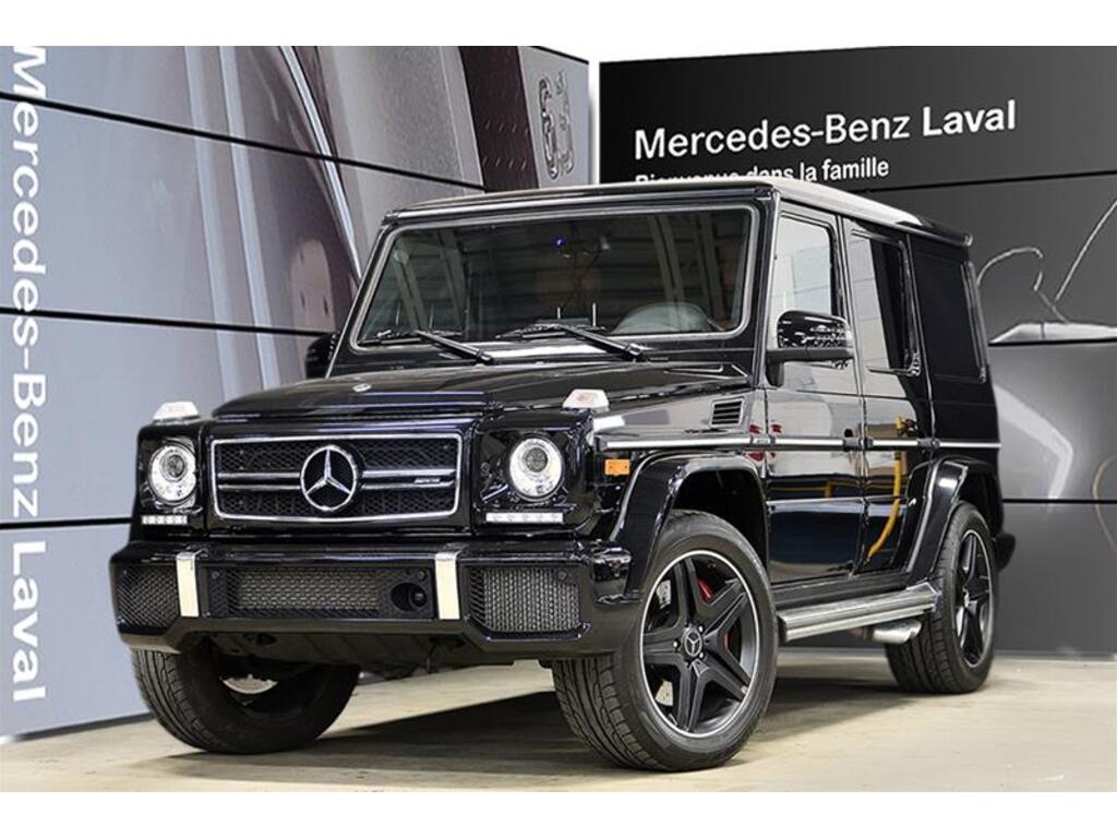 2018 Mercedes Benz G63 Amg Suv Cuir Designo Jantes 20 Noir