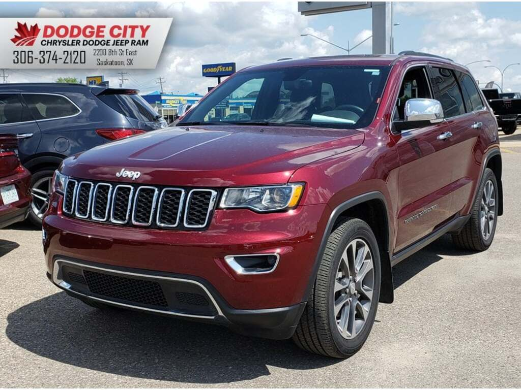 2018 Jeep Grand Cherokee Limited 4x4 | SRoof, Leather, B/U Cam