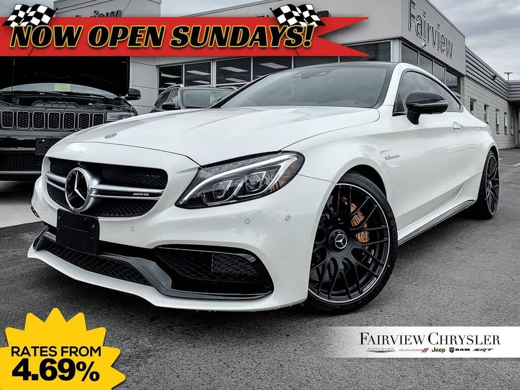 2018 Mercedes-Benz C63 AMG S | AMG SEATS | CARBON