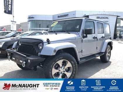 2018 Jeep Wrangler Jk Unlimited Sahara 4x4 Aftermarket