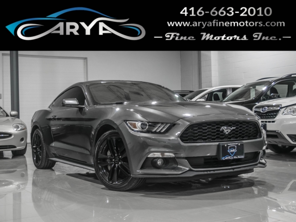 2015 Ford Mustang Fastback EcoBost Recaro No Accident