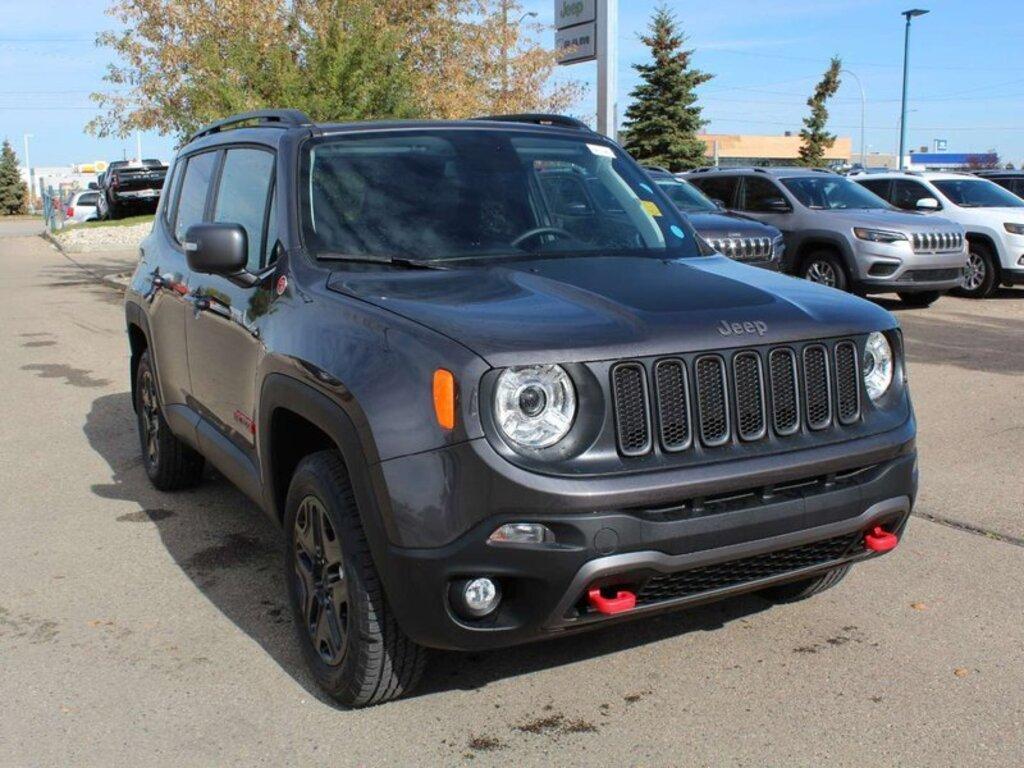 Prix Jeep Renegade >> 2018 Jeep Renegade Trailhawk Edmonton