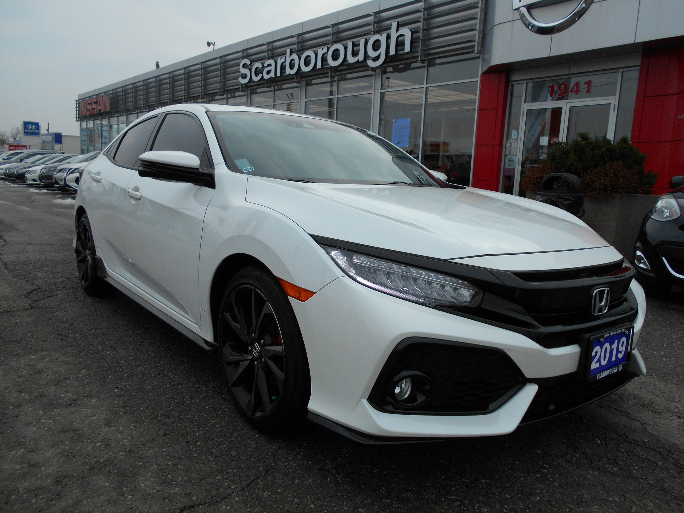 2019 Honda Civic Hatchback Sport Touring Cvt Scarborough