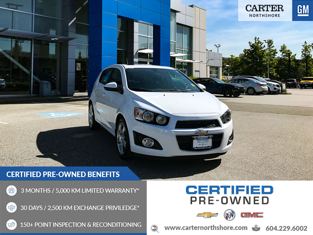 New Used Chevrolet Sonic For Sale Autotrader Ca