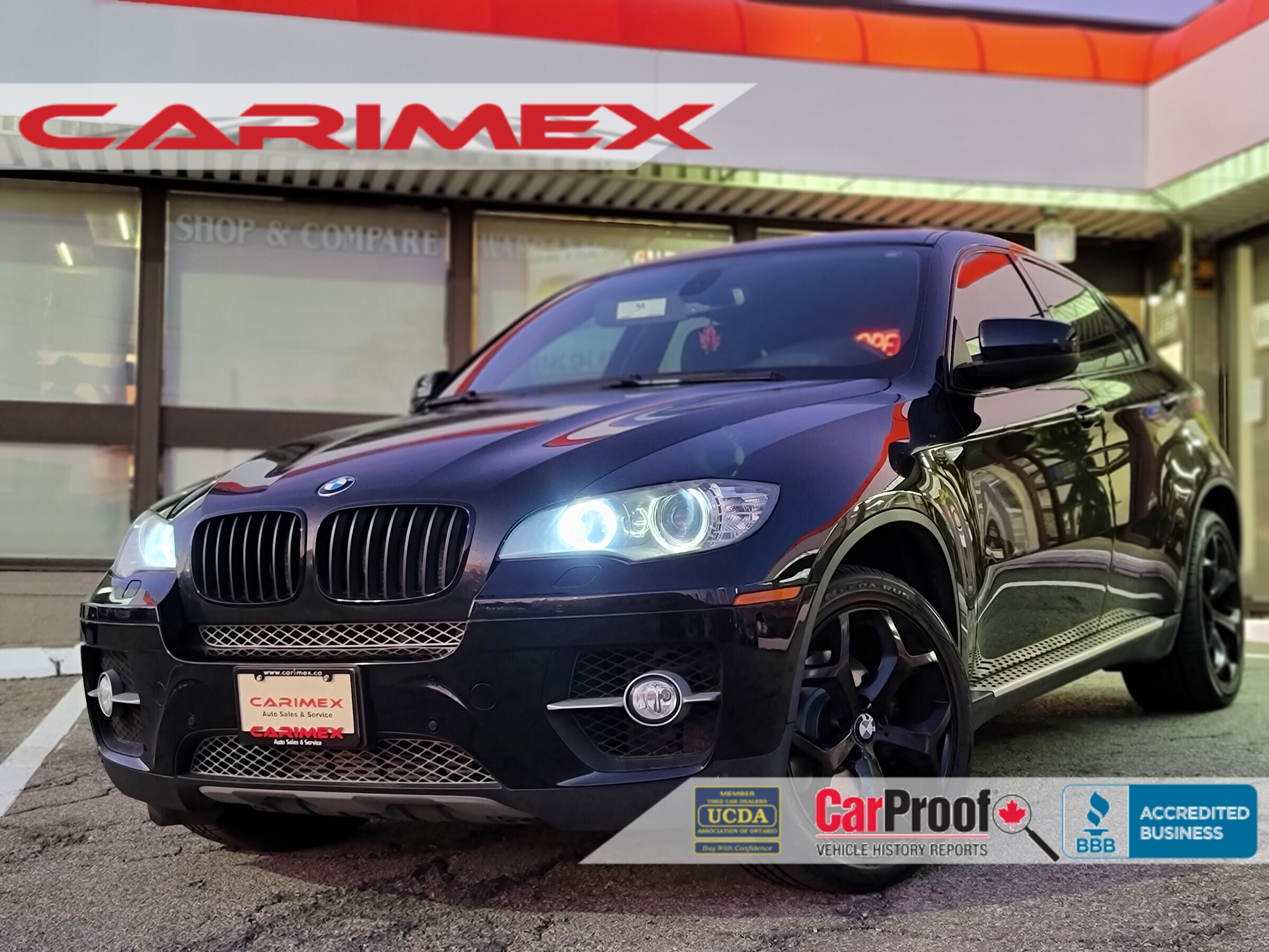 2010 Bmw X6 Xdrive35i Black Edition Alcantara Harman Kardo Waterloo