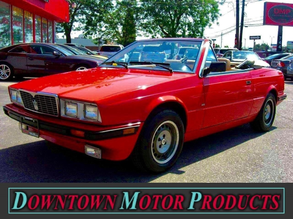 1986 Maserati Biturbo Spyder *LOW KM* EXCEPTIONAL SHAPE ...