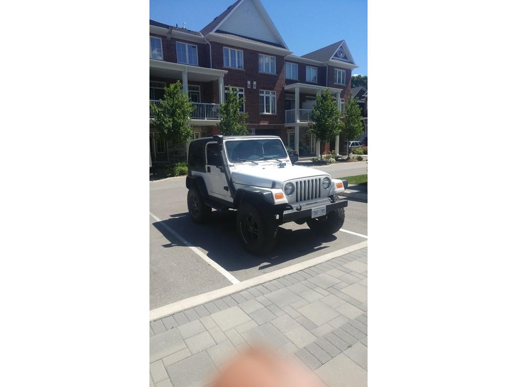 2002 Jeep TJ 2dr Sport 4WD - Burlington