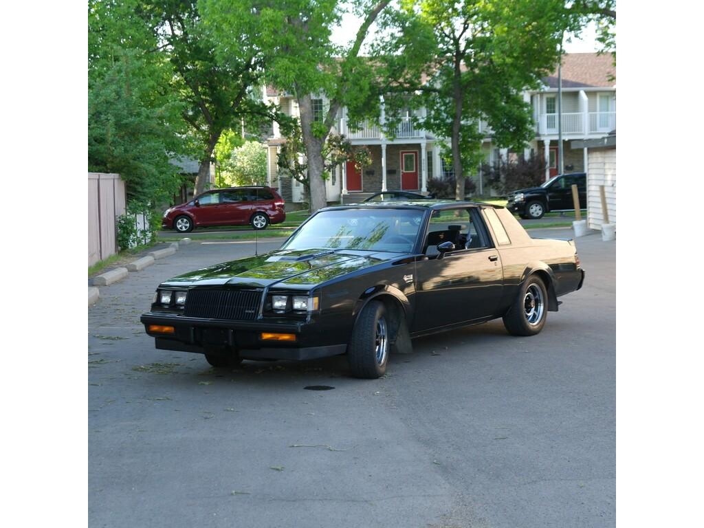 1987 Buick Grand National T Top Edmonton