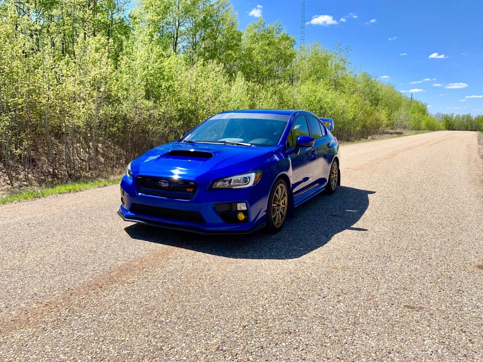 2015 Subaru WRX STi Sport - Edmonton