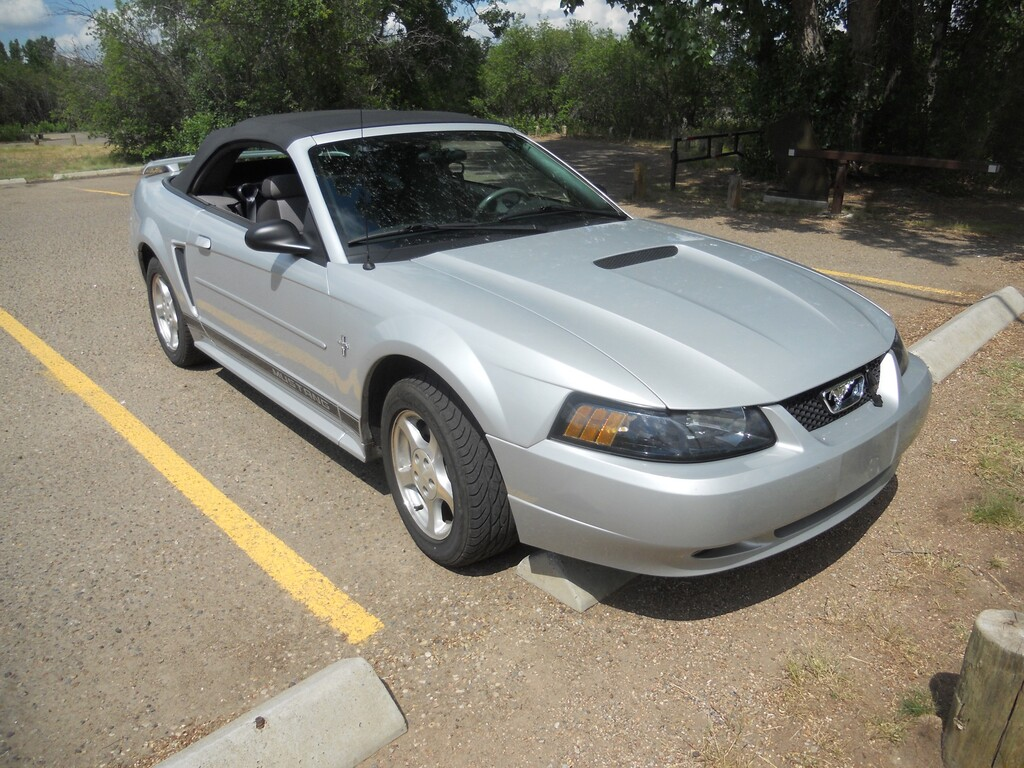 2002 ford mustang 2dr convertible medicine hat