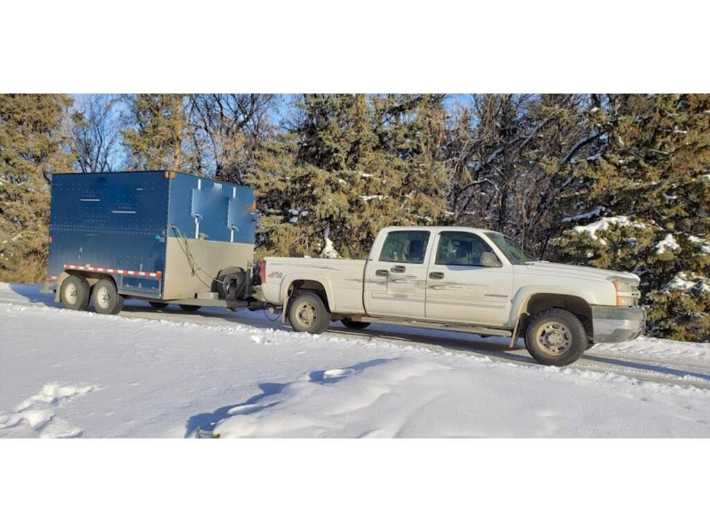 2014 Utility GP-70 US Cargo Silver Eagle Trailer 12'x8'x8' GP