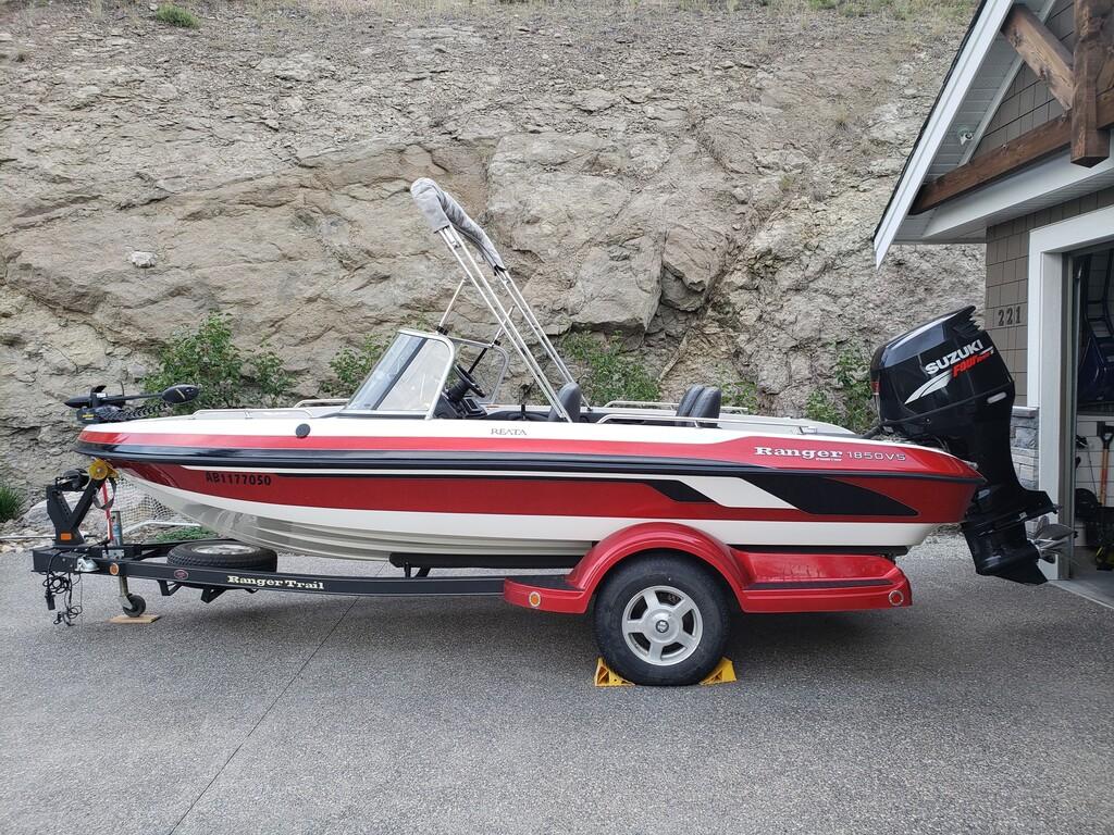 2008 Ranger Boats/Wood Mfg 1850 Reata - Kelowna